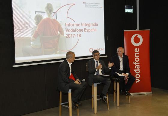 Presentación del Informe Integrado 207-18 de Vodafone España.