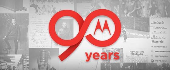Motorola cumple 90 años.