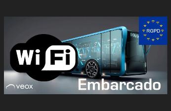 Veox adapta a la GDPR su solución de Wi-Fi Embarcado.