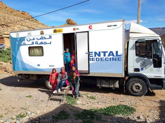 Telemedicina vía satélite en Marruecos