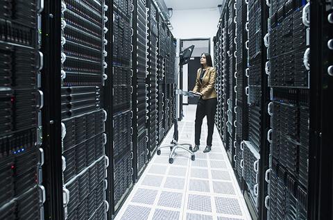 Centro de datos corporativo.