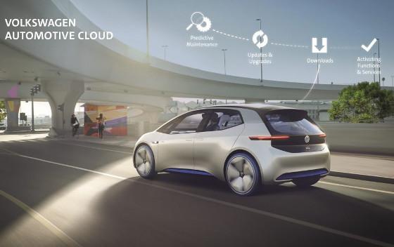 El coche conectado de Volkswagen y Microsoft