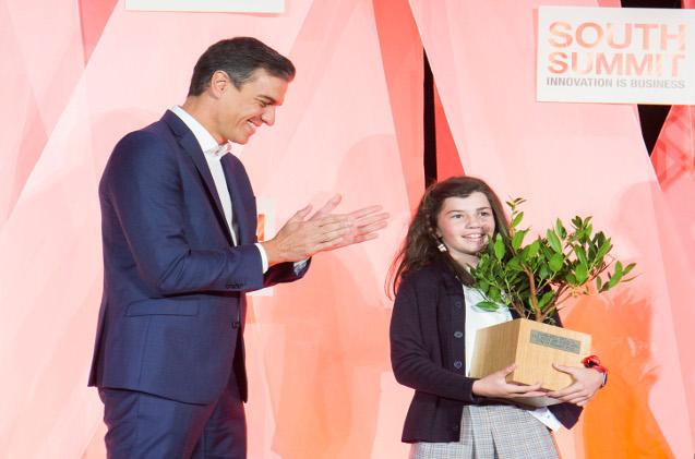 Claudia Rejón Fernández, ganadora del premio Next Big Things