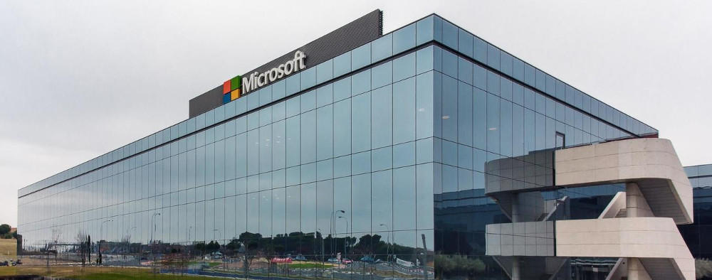 Oficinas de Microsoft en Madrid.