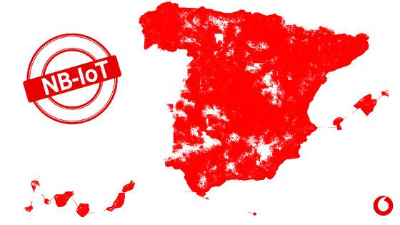Vodafone España lleva su red NB-IoT a las ciudades de más de 25.000 habitantes