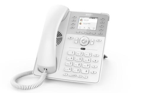 Teléfono Snom D735 blanco.