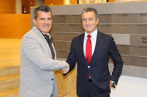 Iñaki San Sebastián, CEO de TECNALIA, y Juan Ignacio Sanz, director general y consejero delegado de Ibermática