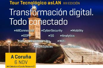 Tour Tecnológico Aslan en A Coruña, el 6 de noviembre.