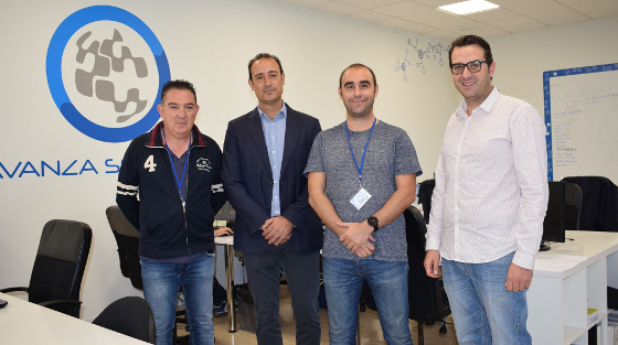 El presidente de TIMUR visita las instalaciones de Avanza Solutions.