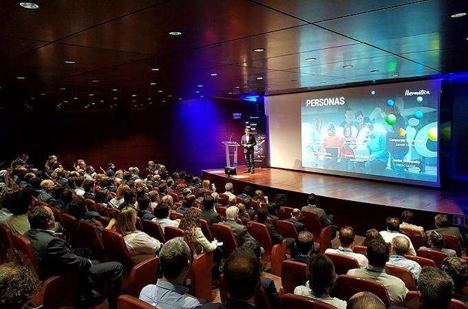 Juan Ignacio Sanz, CEO de Ibermática, en el transcurso del evento celebrado en Madrid