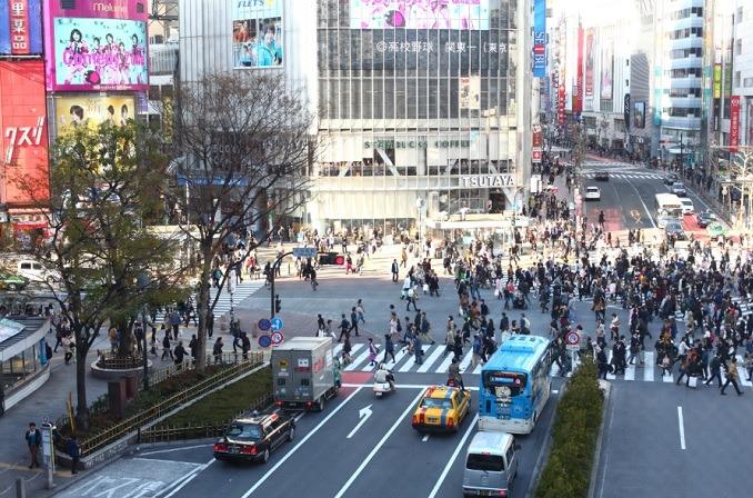 Ciudad japonesa.