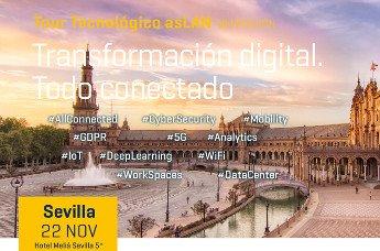 Sevilla cierra el ciclo de Foros del Tour Tecnológico Aslan.