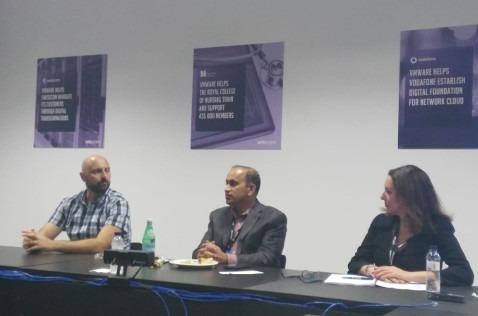 María José Talavera, en una reunión del VMworld 2018.