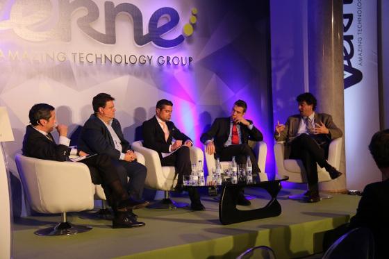 """""""El nuevo escenario de las Telecomunicaciones en Europa ante la llegada del 5G"""", organizada por Verne Group."""