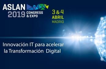 Aslan 2019 se celebrará en el Palacio Municipal de Congresos de Madrid los días 3 y 4 de abril.