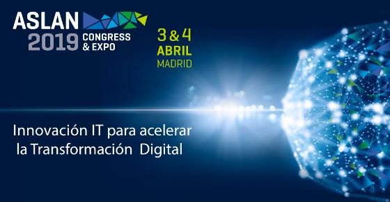 Aslan 2019 se celebrará en el Palacio Municipal de Congresos de Madrid el próximo 3 y 4 de abril.