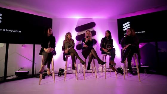 Mesa redonda Woman&Innovation, en el Ericsson Innovation Day.