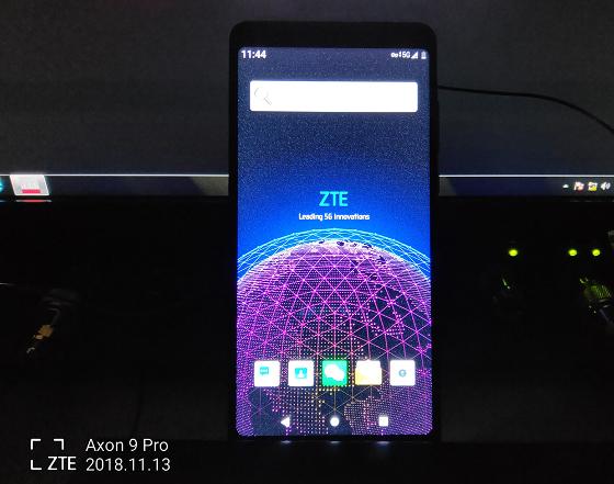 ZTE lanzará un smartphone 5G en la primera mitad de 2019