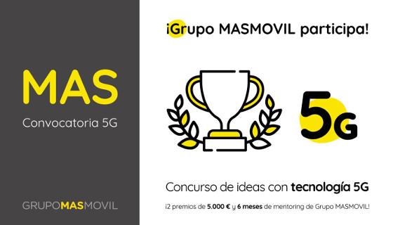 Concurso de ideas y proyectos 5G de MásMóvil.