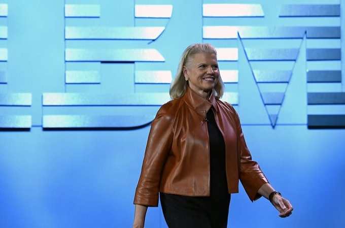 Ginni Rometty, Presidenta de IBM