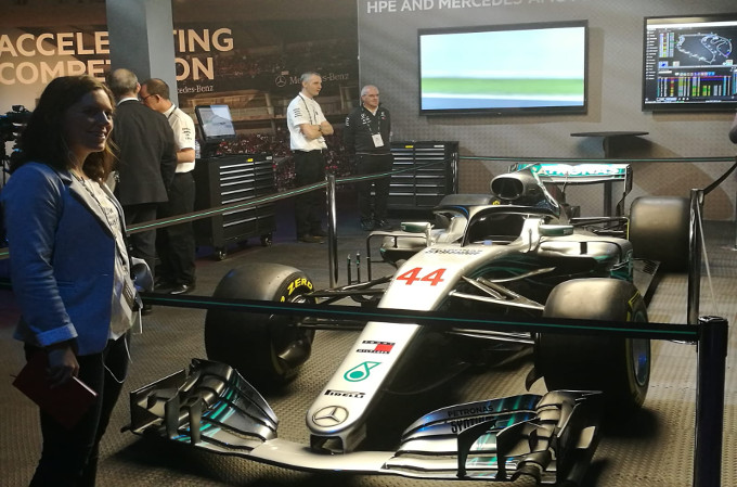 HPE Discover 2018.