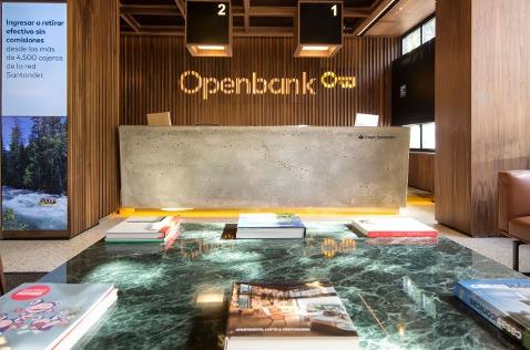 Oficinas de Openbank.
