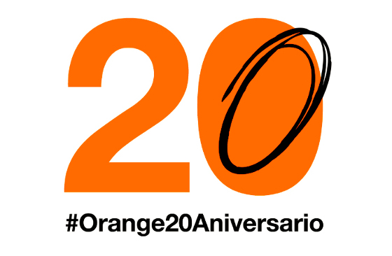 Orange cumple 20 años en España