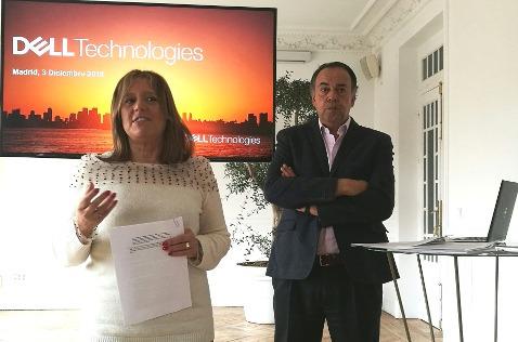 Isabel Reis y Ricardo Labarga, de Dell.