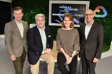 Acuerdo entre Accenture y Google Cloud