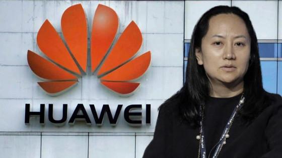 Meng Wanzhou, directora financiera de Huawei, detenida en el aeropuerto de Vancouver.