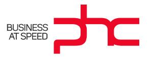 Logo de PHC.