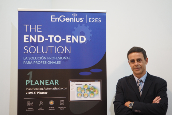 Jesús Yanes, director de Nuevo Negocio de EnGenius.