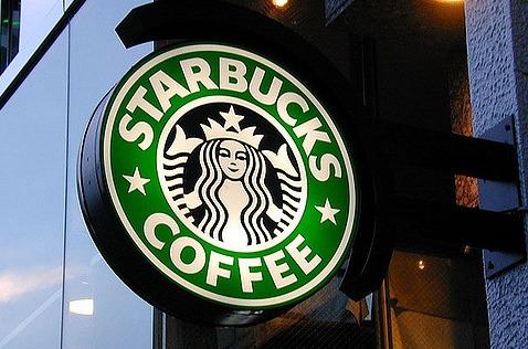 Cafetería de Starbucks.