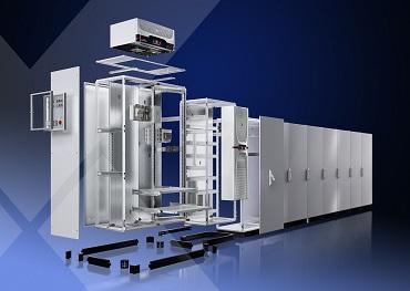 VX25: el nuevo sistema de armarios ensamblables de Rittal