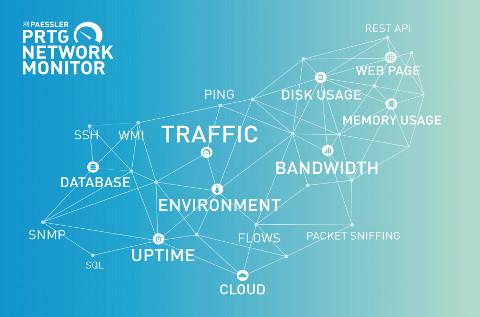 La gestión de redes es clave en la informática corporativa.