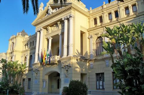 Sede principal del Ayuntamiento de Málaga.