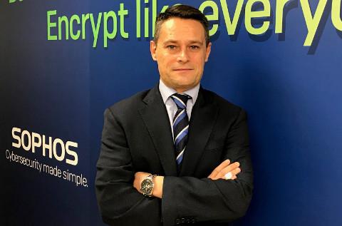 Martin Trullás, director de canal de Sophos.