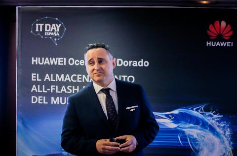 José Concepción, responsable de almacenamiento de Huawei en España