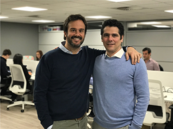 Miguel Fresneda y Víctor Pérez, fundadores de Woffu.