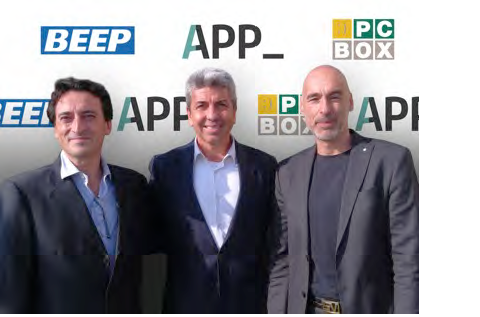 Javier Ginesta, Joan Ballester y Vicente Argilés