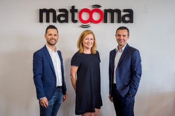 Directivos de Matooma, compañía que en 2018 creció un 50%