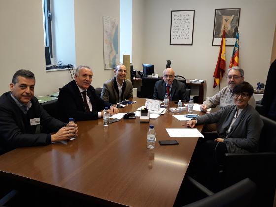 AOTEC acude a la Generalitat Valenciana para poner en valor al operador local.