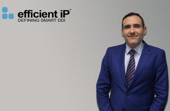 Diego Solís, director general para Iberia y Latam de EfficientIP.