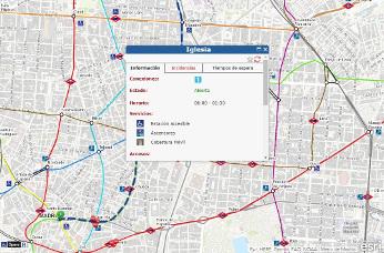 Nueva app del Metro de Madrid para calcular la mejor ruta.