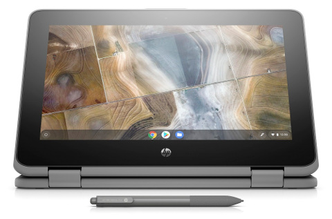 Un chromebook de HP.
