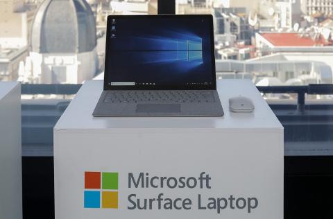 Nueva Surface de Microsoft.