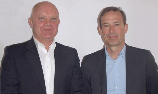 Laurent Daudré y Olivier BreittmayerExclusive Networks