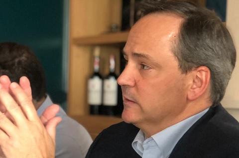 El Presidente de VASS, Javier Latasa, durante la presentación de los resultados y la estrategia de la compañía