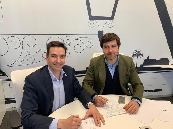 Acuerdo de colaboración entre el COITAOC y BeCheckin para promover la transformación digital en Andalucía