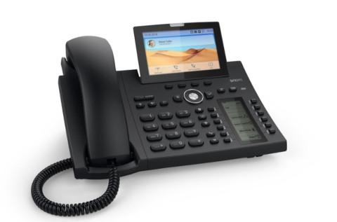 Teléfono IP D385 de Snom.